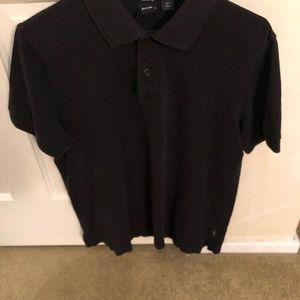 7c53730b7 Hugo Boss Shirts   Black Mens Polo Slim Fit Large   Poshmark